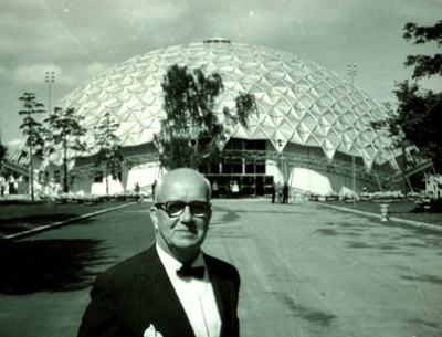 Buckminster Fuller - Inventor of the Geodesic Dome
